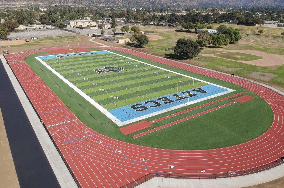 Azusa High School - New Field